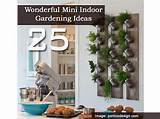 25 Wonderful Mini Indoor Gardening Ideas -