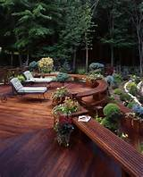 Beautiful deck design | Outdoor~ Backyard ~ Garden Ideas | Pinterest