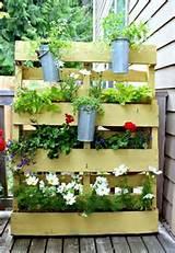 Les Palettes font la Déco du Jardin | Deco-Cool