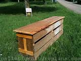 beautiful pallet garden bench ideas pallets designs