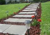 walkways reveal backyards ideas lava rocks red lava front walkways