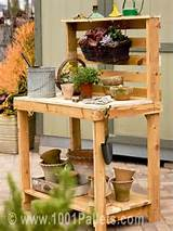 lounges garden sets pallet garden potting bench all steps to