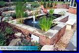 Another raised brick pond idea - for future reference!
