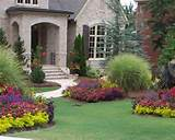 flower beds for front of house bed designs for front of acadian