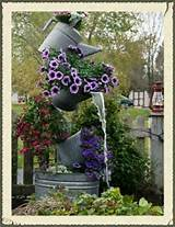 water fountian unique garden ideas pinterest