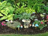 gnomes hosta garden perfect combo garden ideas pinterest