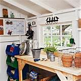 Inside a Potting Garden Shed Ideas