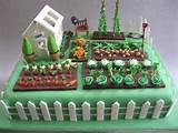 vegetable garden cake 50th birthday cake for a keen gardener he s also