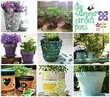 ways you can dress up those plain ole pots let me show you a few