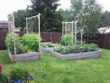 garden ideas raised beds for vegtables gardening pinterest