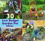 and amazing low budget garden pot ideas to beautify your garden