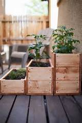 stacked wooden box garden recycling garden ideas pinterest