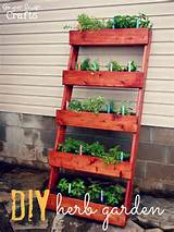 diy crafts gardening vertical herb garden tutorial garden ideas