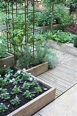 Gardens Ideas, Gardens Boxes, Gravel Path, Raised Beds, Tomatoes Cage ...