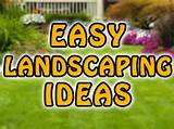 Easy Front Yard Landscaping Ideas And Backyard Landscaping Ideas ...