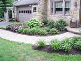 opposite view of front entrance landscaping beautifully landscaped