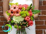 Chic Romantic Green Pink Barn Bouquet Country Club Country Fall Garden ...