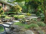 home outdoor design ideas with wonderful rock wall garden designs