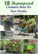 10 repurposed container ideas for your garden the home and garden