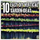 10 Easy DIY Vertical Garden Ideas - TinHatRanch