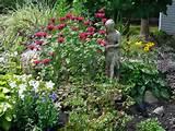 butterfly garden design flowers veggies pinterest