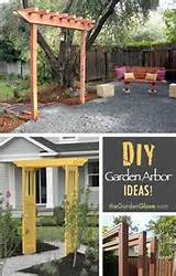 DIY Garden Arbor Ideas! | Garden | Pinterest