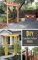 diy garden arbor ideas garden pinterest