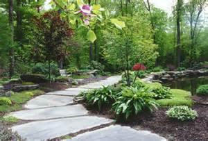 Natural Landscaping, Natural Garden Pathway & Perennial Garden in ...