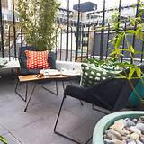Urban patio city garden with a view | Urban garden ideas | Gardens ...