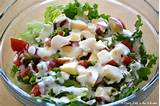 Summer Salads: Simple Green Salad - A Pretty Life In The Suburbs