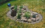 Rock gardens can be very unique and as small or as large as you like.