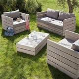 Pallet garden furniture. | Garden Center Ideas | Pinterest