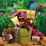 Mothers Spring Garden Gift - Gift Basket For Women