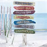 beach signs on a stake tropical outdoor decor tropical outdoor decor