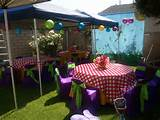 Garden Fairty Theme Kids Birthday Party Decoration Ideas
