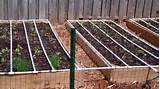 self watering square foot garden diy youtube
