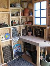 inside my shed | Potting Shed Interiors | Pinterest