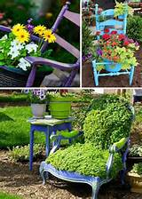 24 Creative Garden Container Ideas | Use chairs as planters and garden ...