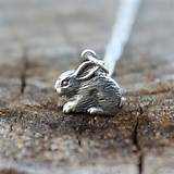 Rabbit Necklace - Gardener & Naturalist . Gift Ideas for Her ...