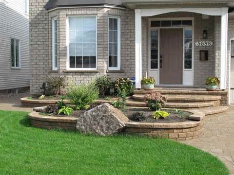 Landscaping Ideas for Front of House : Landscaping Ideas With Stone ...