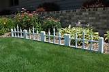 garden fence ideas decorative garden fencing home design ideas