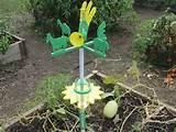 low tech weather station school garden ideas pinterest