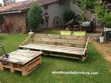 ... from pallets | Garden Set Made from Pallets | Wooden Pallet Furniture