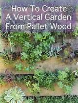 Pallet Garden | Pallet garden ideas | Pinterest