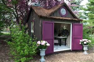 Living Stylishly in Nature: Re-Imagining the Humble Garden Shed