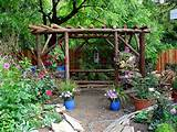 rustic gazebo | Community Garden ideas | Pinterest