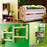 diy wooden furniture home garden projects wine crates pallets