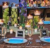 Elegant Garden Party Fruit & Flower Centerpieces | The Decorating Diva ...