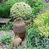rustic country garden with pots garden country homes interiors