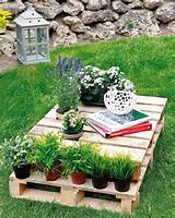 ... wood pallet furniture ideas – 4 easy projects for home and garden